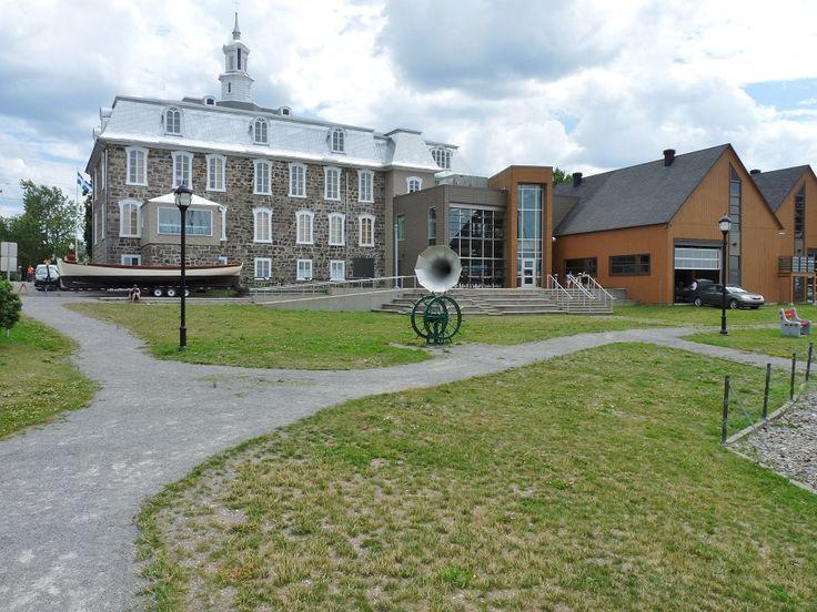L'entrée principale du Musée maritime du Québec, L'Islet, Québec