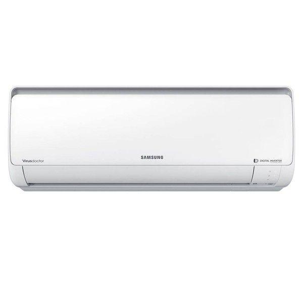 Ar - condicionado Split Inverter Hi - wall Samsung Digital 12000 Btu / h 220v Quente / frio Ar12hsspasnnaz / a