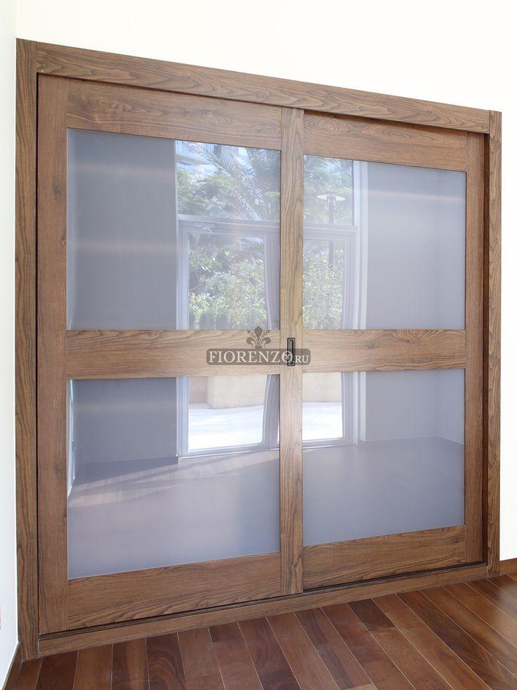 Матовые стекла дверей-купе