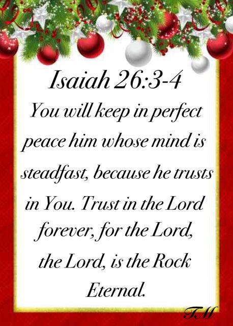 Isaiah 26:3-4