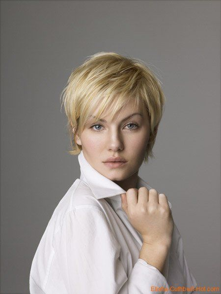 Elisha Cuthbert Pixie Haircut | Posted by John MacGuyver at 1:03 AM