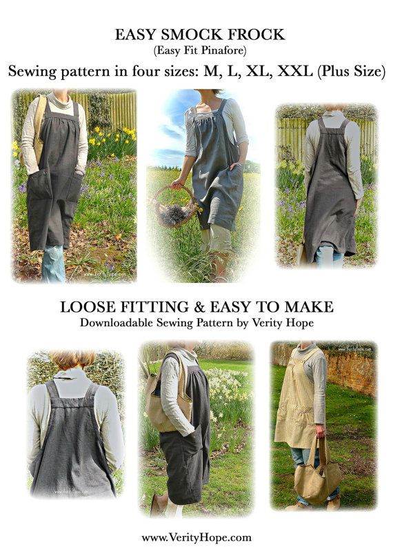 Easy Smock Frock / downloadable / sewing by VerityHopesWardrobe