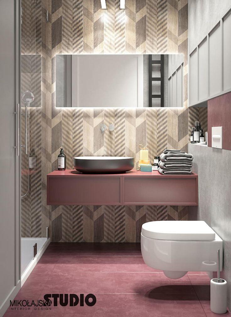 Perfekt Minimalistische Badezimmer Bilder: Rosa Badezimmer