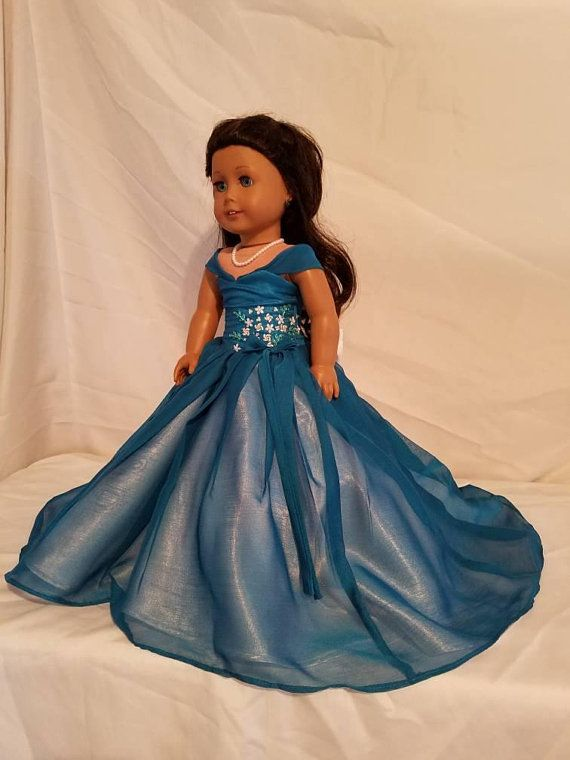 Elegant Handmade Doll Clothes Wedding Dress  Doll Party Gown Clothes PLCA