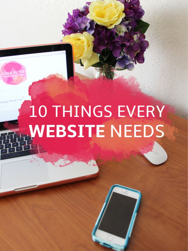 10 Website Essentials For Your Blog Or Business Amazing