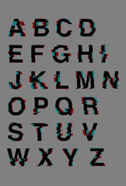 Glitched Helvetica, The Kraftwerk-Inspired KWERK, And Other Unusual Typefaces