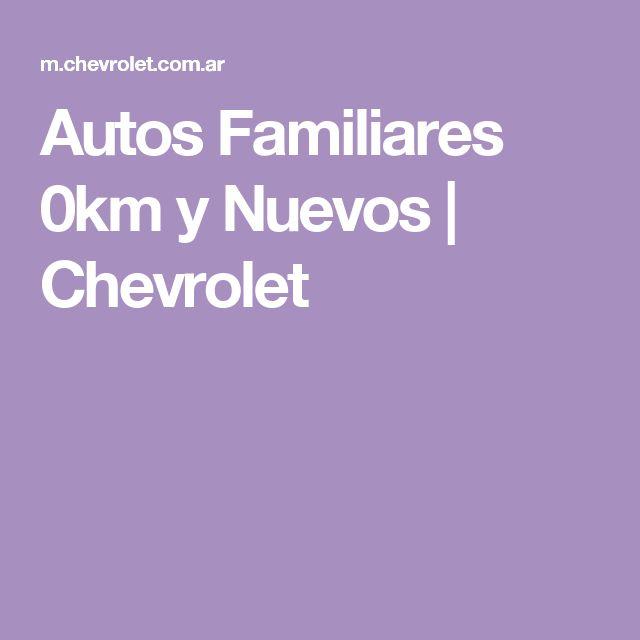 Autos Familiares 0km y Nuevos | Chevrolet