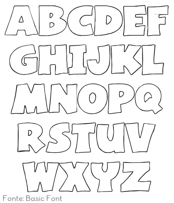 best 25 alphabet templates ideas on pinterest alphabet With material letters template