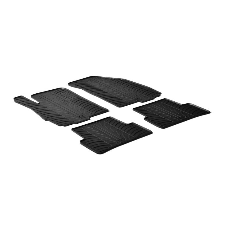 Gledring 2012-2015 Chevrolet Aveo Custom Fit All Weather Heavy Duty Car Floor Mats, Black