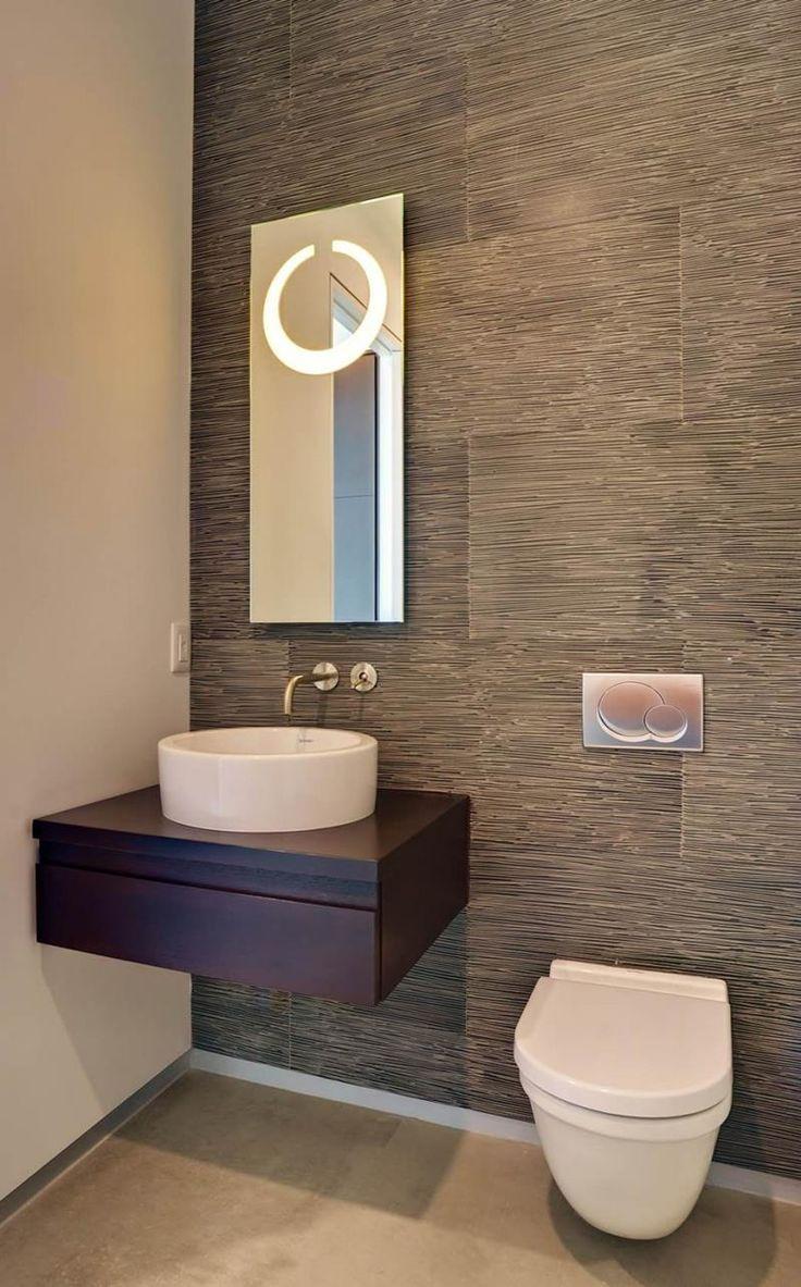 Contemporary condo bath modern bathroom chicago by jill jordan - 26 Amazing Powder Room Designs 4