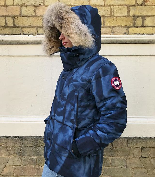 ff1871000af The Abstract Camo Wyndham parka (850) from @canadagoose has dropped in  store. Online soon. #philipbrownemenswear #canadagoose #wyndham