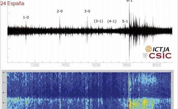 El rastro sísmico y los temblores desencadenados por el 6-1 al PSG