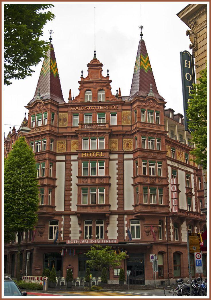 Waldstatterhof Hotel, Luzern, Switzerland Copyright: Gus Izurieta