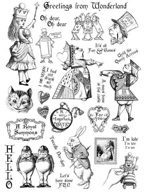 1825 mejores imágenes de Alice...... en Pinterest | Alicia en el ...