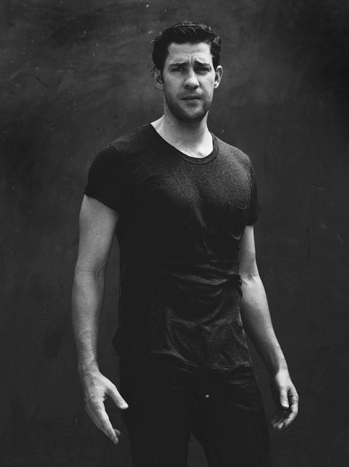 Oh is it time for a photo with his shirt sticking to his body? WISH GRANTED: | 24 Reasons To Be Thankful For John Krasinski