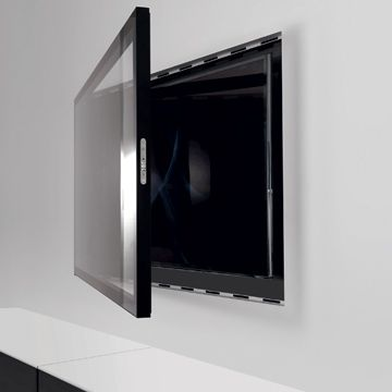 Hide your TV with ZERO Wall system
