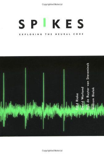 Spikes: Exploring the Neural Code (Computational Neuroscience) by Fred Rieke http://www.amazon.com/dp/0262681080/ref=cm_sw_r_pi_dp_Qd.4ub1CV4Q4A