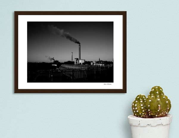 Discover «Factory 2», Exclusive Edition Fine Art Print by Henri Hiltunen - From $25 - Curioos