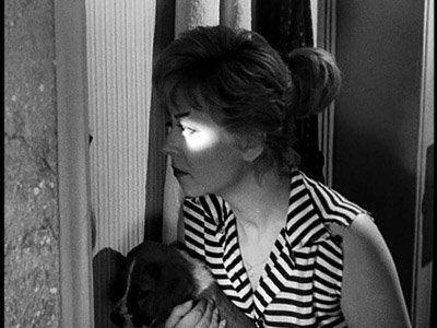 """Giulietta Masina in """"Le notti di Cabiria"""" di Fellini.1957"""