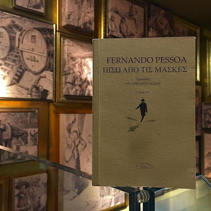 «Ούτε φιλοδοξία τρέφω, ούτε επιθυμία. Η φιλοδοξία μου δεν είναι να είμαι ποιητής. Είναι ο δικός μου τρόπος να είμαι μόνος...» Φερνάντο Πεσσόα  Ένας από τους λόγους να είναι ο αγαπημένος μου! Από τις εκδόσεις Ροές. #my_book_guide #my_own_lisbon #βιβλίο #ποίηση