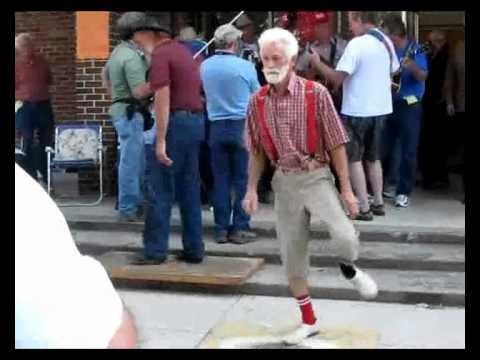 Grandpa Shuffelin'. We love the elderly.