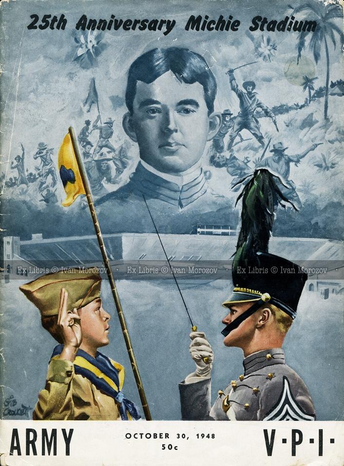 1948.10.30. Virginia Tech (Hokies) at Army (Black Knights
