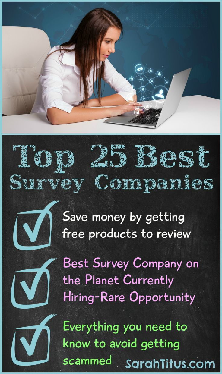 I've been taking surveys online for a REALLY long time and in that time, I found many scams, but I also found some great legitimate ways to be heard and earn money from home. This article not only teaches you which companies pay the best, but also how to spot a scam!