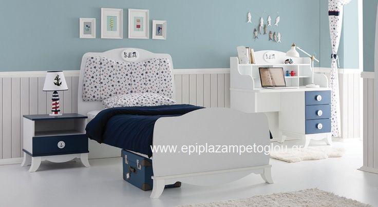 Παιδικό Κρεβάτι Marine