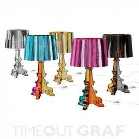 Vintage Bourgie Kartell GRAF LICHT Designerlampen und Designerleuchten Shop Kartell M bel u Kartell Leuchten