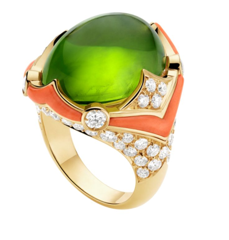 bague #Bulgari juste superbe!| Reposted by Fashionista-Princess-Jewelry   #xoxo  #luv ya