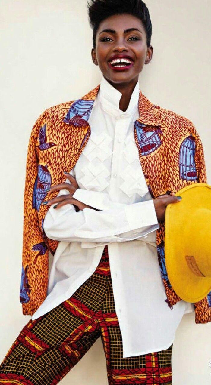 Print Culture ~African fashion, Ankara, kitenge, African women dresses, African prints, African men's fashion, Nigerian style, Ghanaian fashion ~DKK