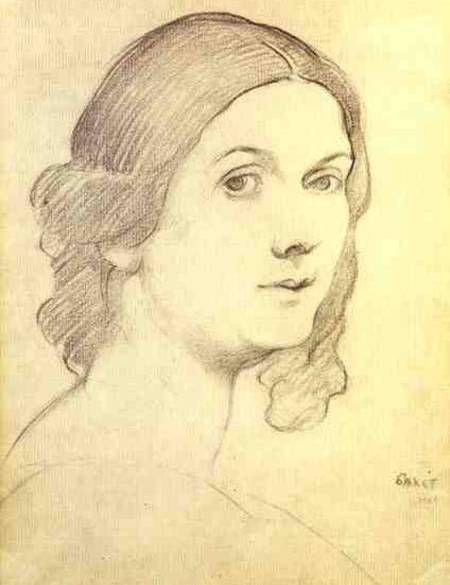 Лев Самойлович Бакст (1866-1924) - Портрет Айседоры Дункан