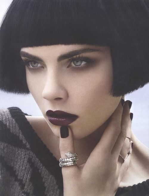 storm models | Cara Delevingne Looks Every Inch the Russian Doll in Vogue Russia (Aug)