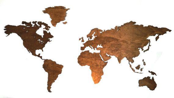 Rose Gold World Map Printable  Wall Art  Room Decor Nursery Room - new google world map printable
