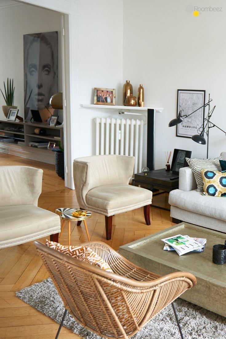 Modern Wohnen Mit Retro Chic Und Altbau Charme Living Room