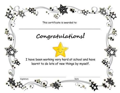 Mer enn 25 bra ideer om End of term på Pinterest Student data - congratulations certificate