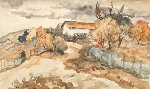 Adam Bălțatu - Peisaj de vară