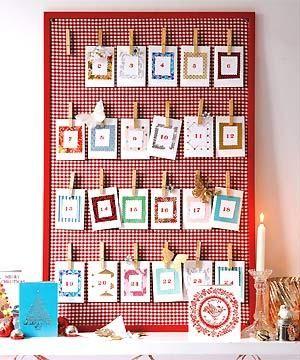 24 Handmade Advent Calendar Ideas » The Purple Pumpkin Blog