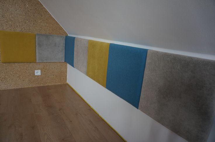 panele madeforbed , na ścianie zamontowana płyta MFP odpowiednik osb Pfleiderera www.atoato.pl