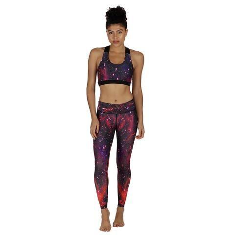 Nebula Activewear #Activewear #Gymwear #FitnessLeggings #Leggings #Tikiboo #SpacePrint #Running #Yoga #Galaxy #GalaxyPrint