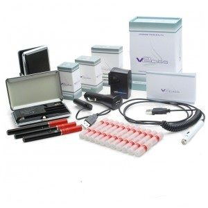 I love my new v2 cigs Electronic cigarette review starter kit