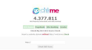 Cara Cek SEO Blog / Website Menggunakan CHKME
