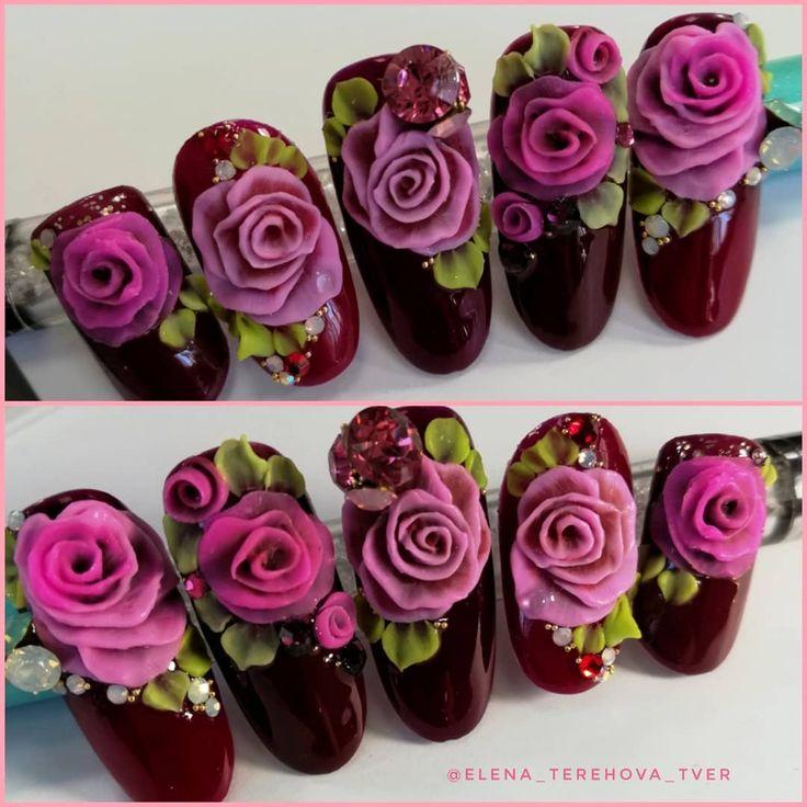легкой пошаговое фото лепки розы акрилом этот раз величество