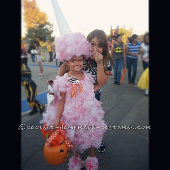 The Original Cotton Candy Costume... Coolest Halloween Costume Contest