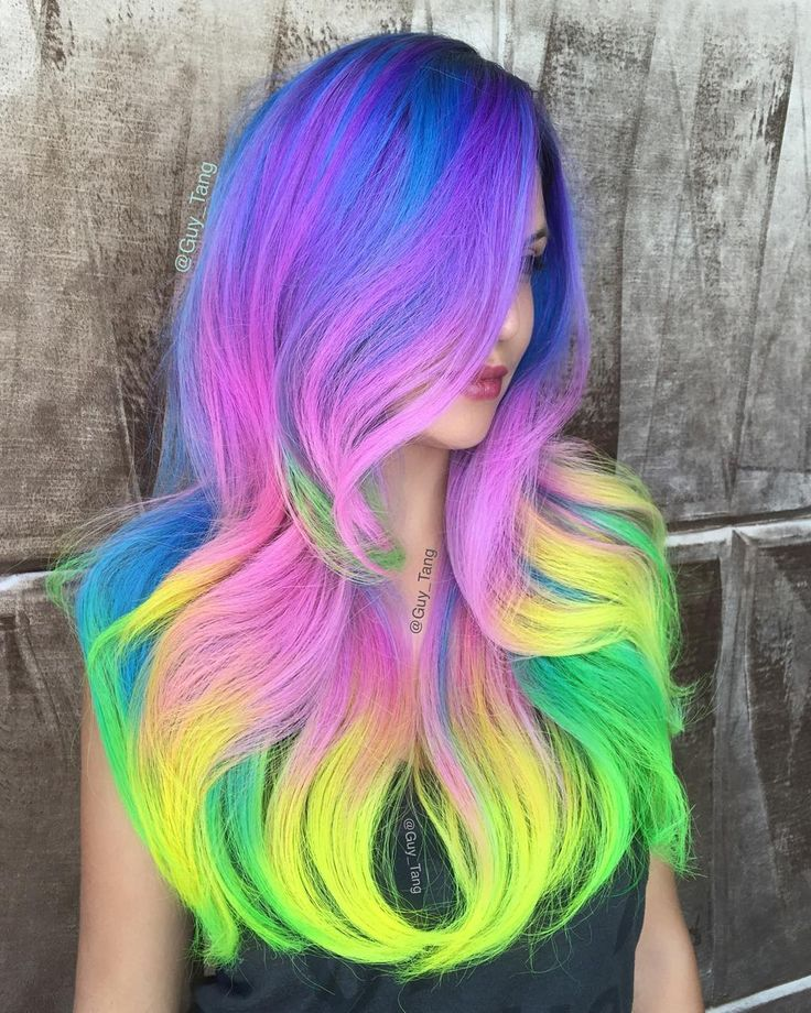 best 25 neon hair ideas on pinterest neon hair color crazy hair colour and crazy color hair dye. Black Bedroom Furniture Sets. Home Design Ideas