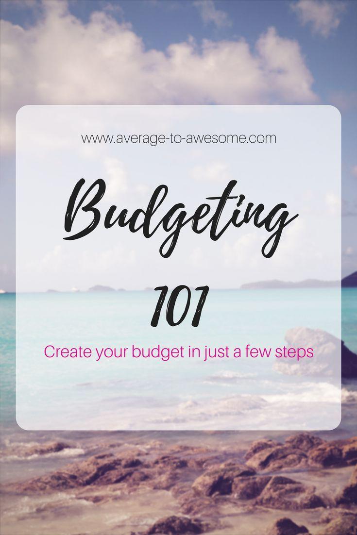 Budgeting 101: start saving money today