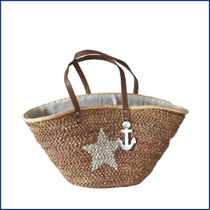Schnappt Euch die Korbtasche, Bikini rein und ab an See! ☀️💦 Die Tasche findet Ihr hier: http://feingefühl-shop.de/taschen/808/korbtasche-star-mit-anker?c=6 #tasche #korbtasche #see #bikini #sommer #feingefuehlshop #feinesache