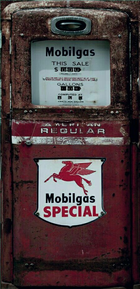 Mobilgas special red rust gas pump refrigerator wrap sticker contact rm wraps have a question or issue need help wrapping your product