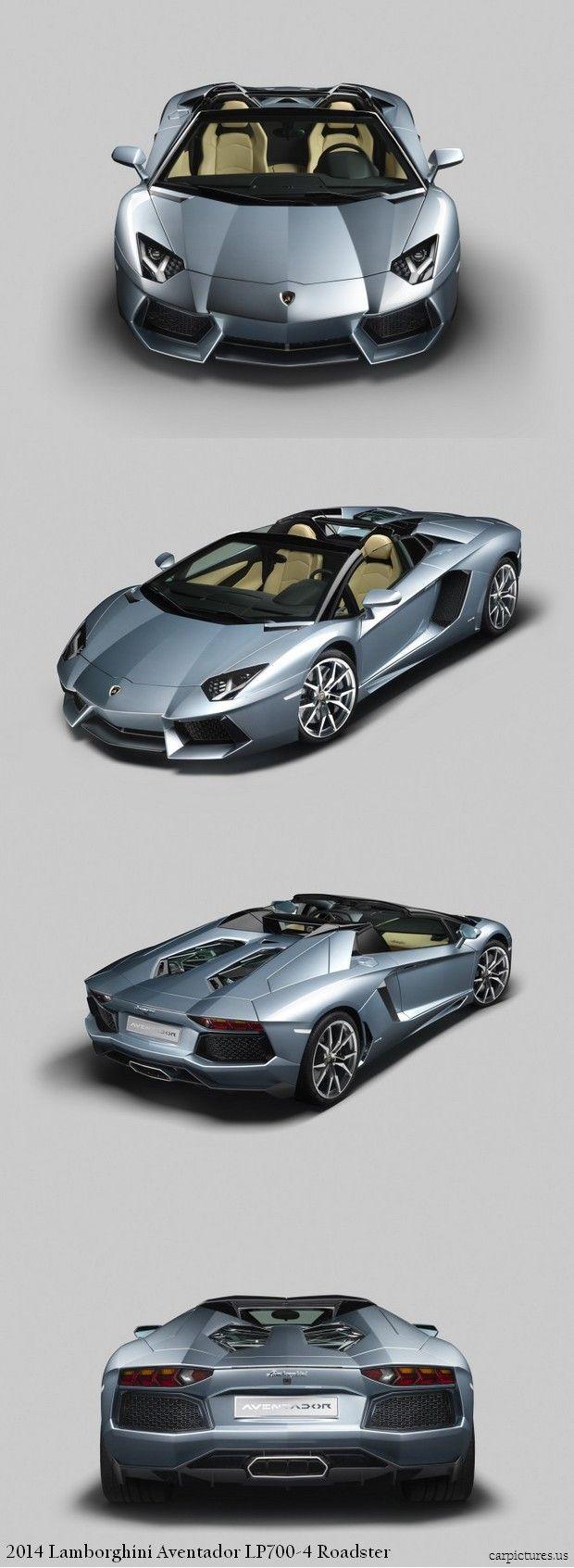 2014 Lamborghini Aventador LP700-4 Roadster. More: http://carpictures.us/2014-lamborghini-aventador-lp700-4-roadster/