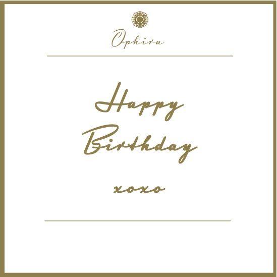 Happy Birthday xoxo